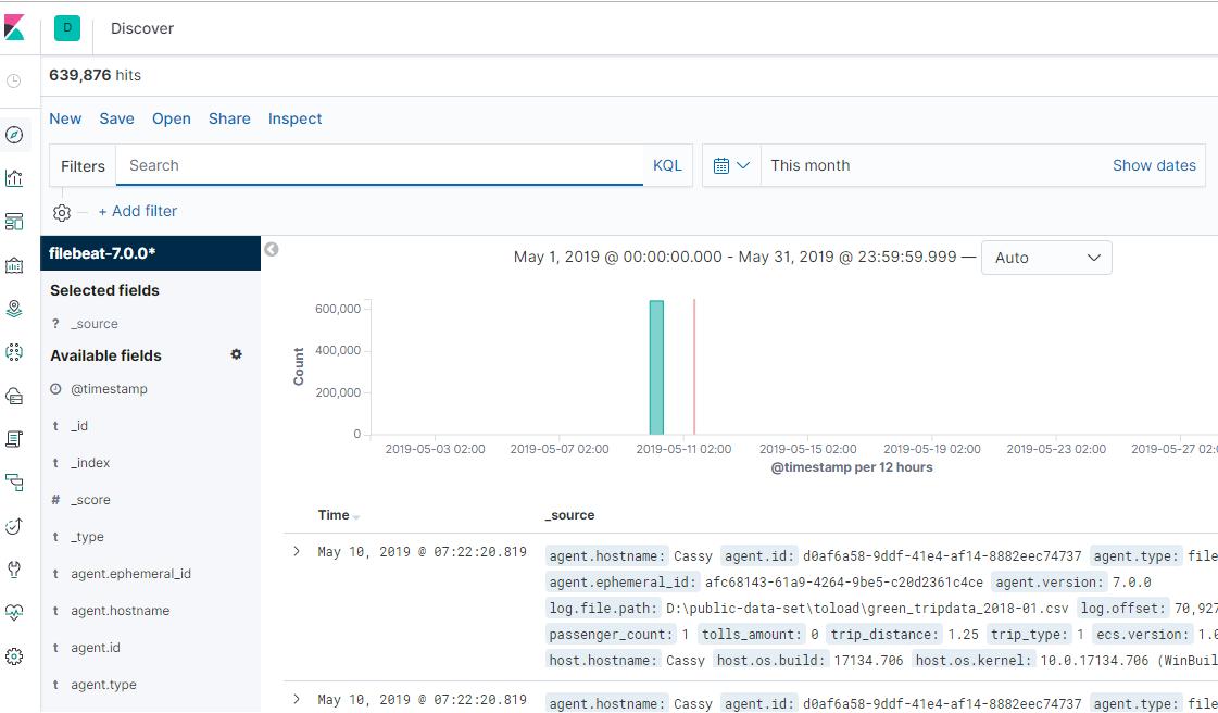 Elastic Stack - CSV data processing